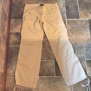 American Eagle outfitter Khaki cargo pants